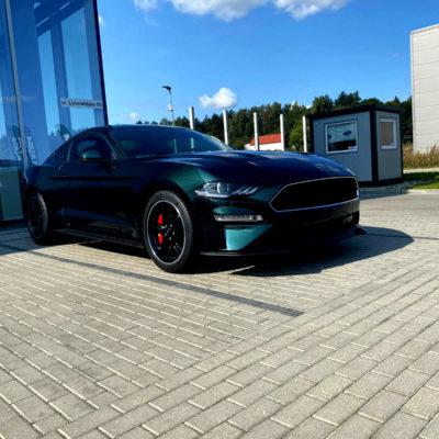 Ford Mustang BULLITT Fastback 5.0 Ti VCT V8 460 KM Mestenza Rafał Grzebin